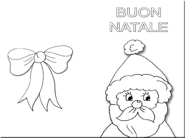 Biglietti Buon Natale Bambini.Biglietto Auguri Di Natale Da Colorare Free Downloads