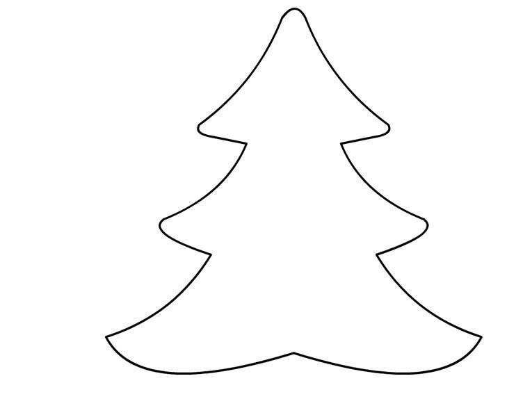Sagome natalizie for Alberi di natale da colorare e ritagliare