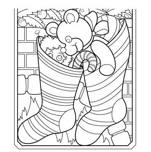 Calze della befana - Calza pagine da colorare ...