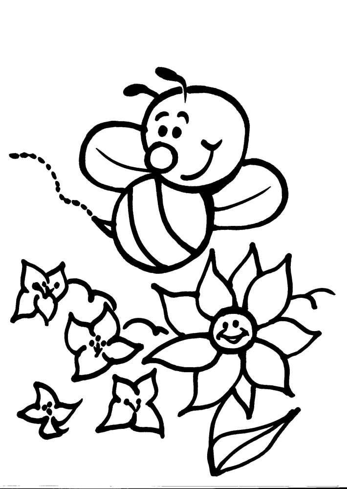 Primavera da colorare primavera angolo di antonella for Disegni da stampare e colorare fiori