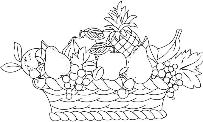 Frutti Di Stagione Autunno Da Colorare Frutti Di Stagione Autunno