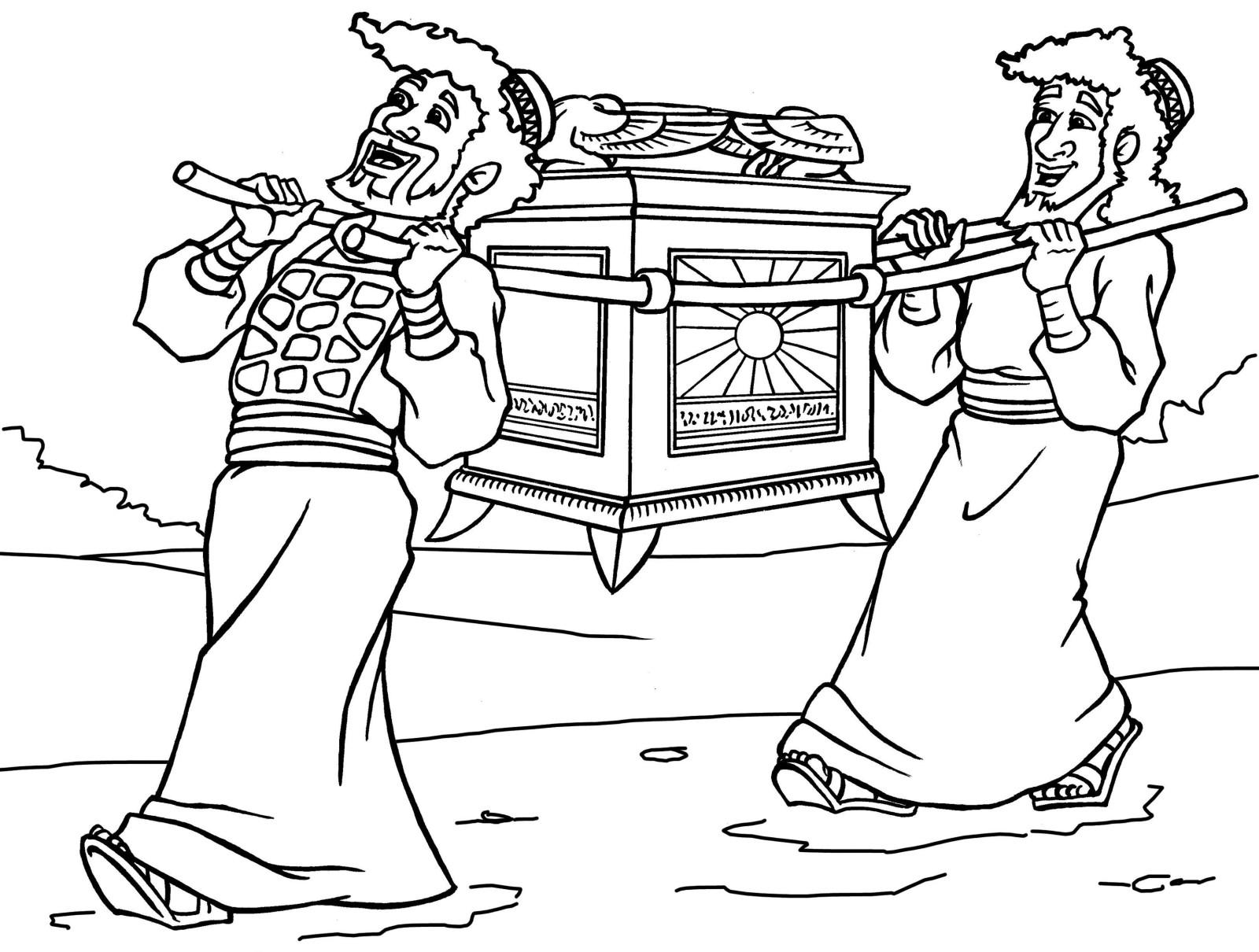 Tabernacle Coloring Pages Tabernacle Coloring Page