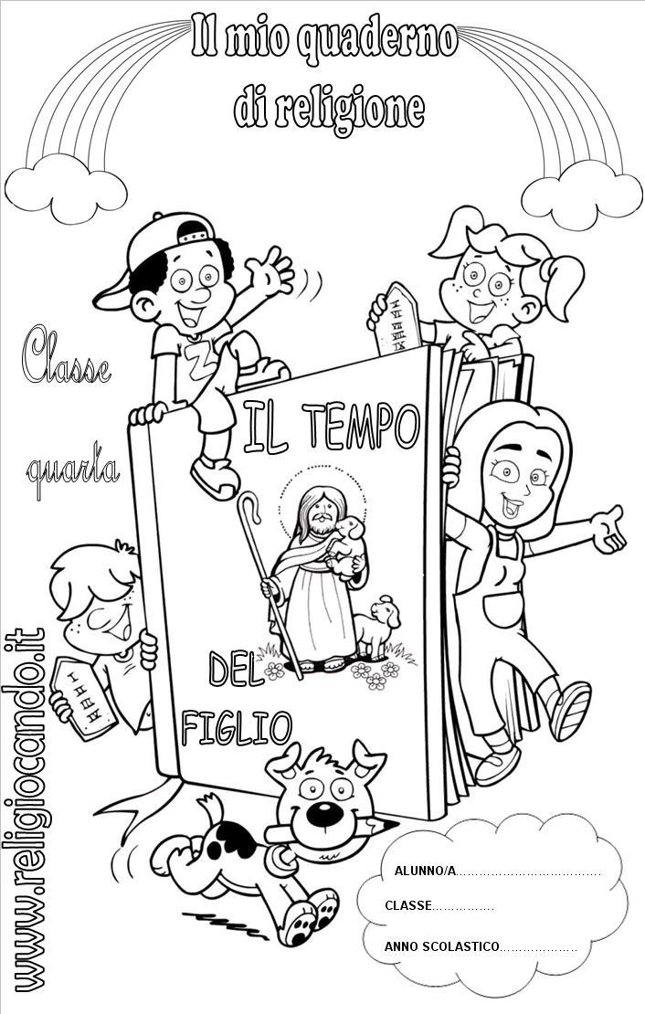 Top Copertine quaderni di religione cattolica RN63