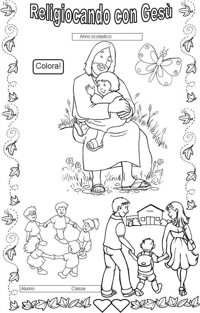 Estremamente Copertine quaderni di religione cattolica XO13