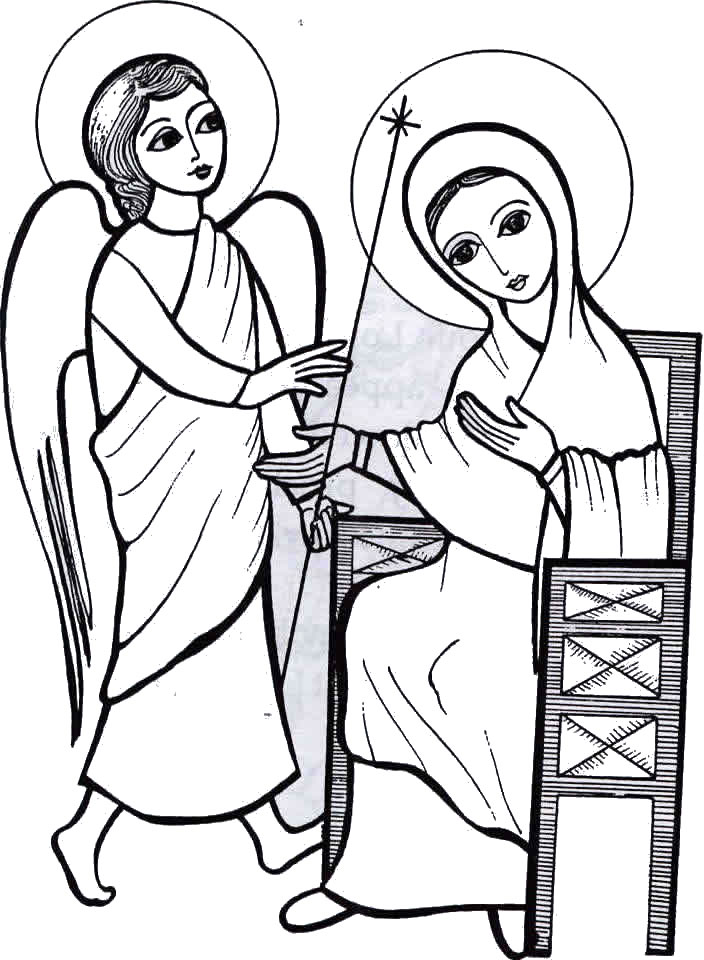 christmas coloring pages of angels gallery