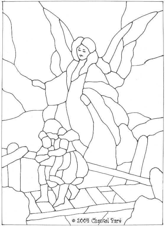 guardian angel prayer coloring pages   Guardian Angel Prayer Coloring Sheet Sketch Coloring Page