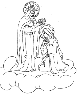 Corloring Pictures Of Mary Coloring Coloring Pages