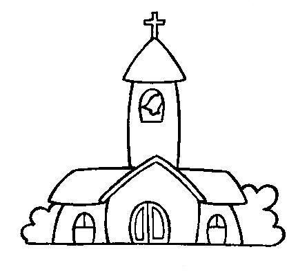chiese edificio da colorare chiese disegni chiese edificio