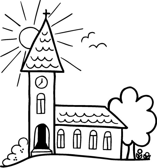 jesus coloring pages catholic church - photo#20