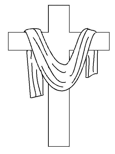 kaboose coloring pages easter cross - photo#37