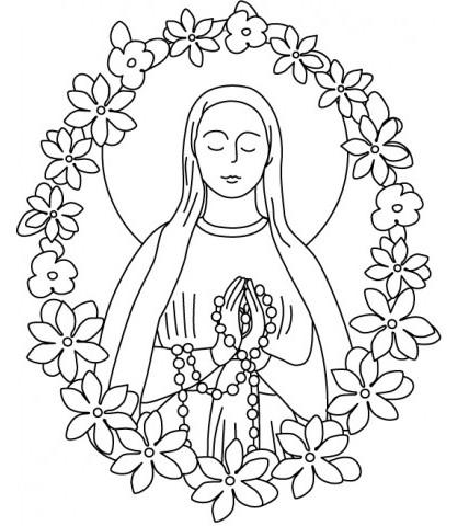 8 dicembre festa dell 39 immacolata concezione storia poesie for Immagini sacre da colorare