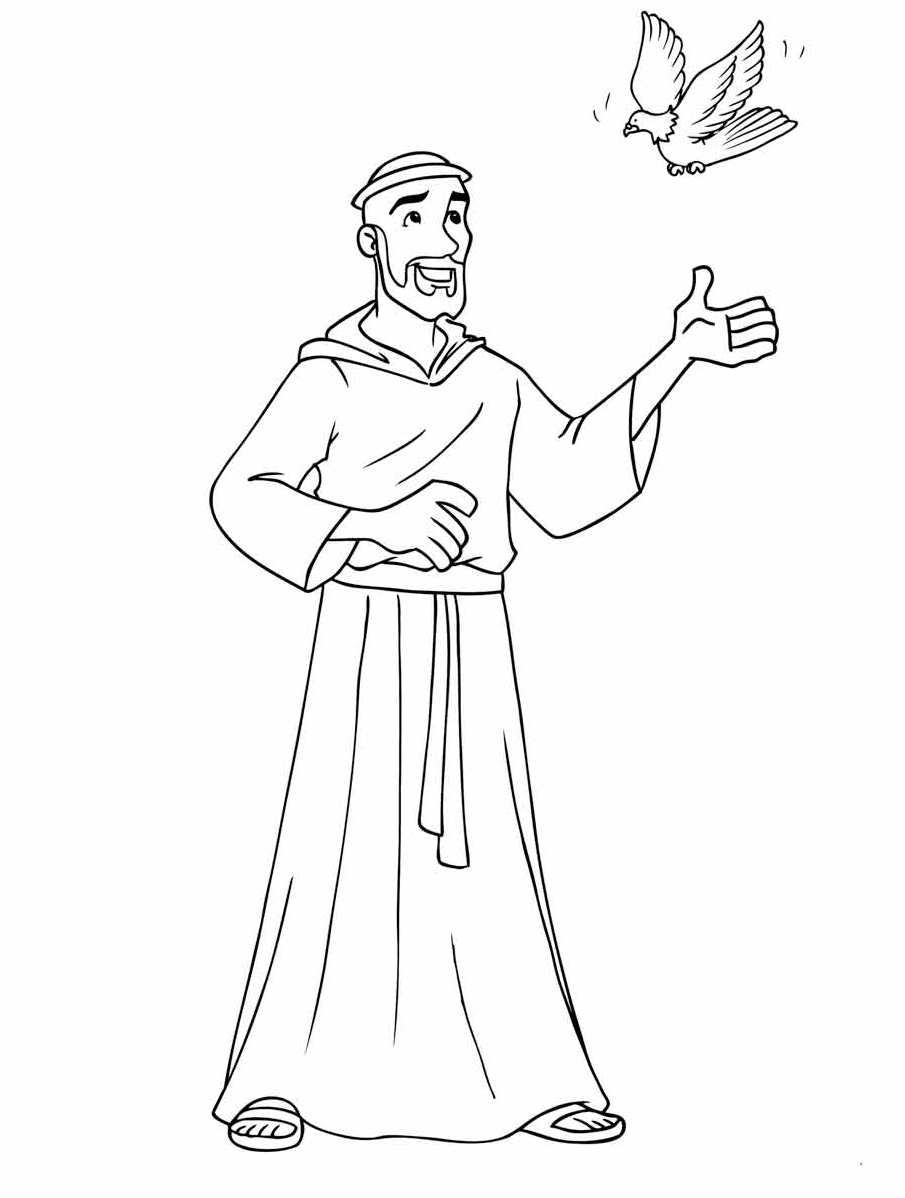 Ben noto San Francesco d'Assisi DY57