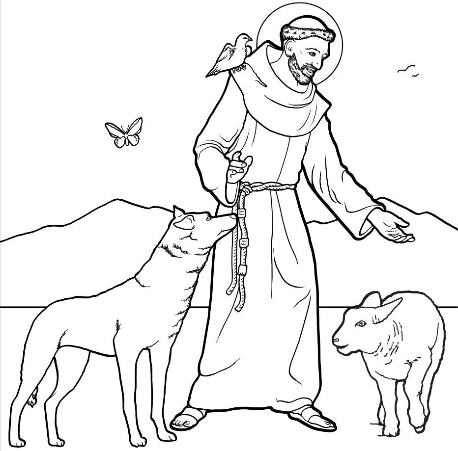 Famoso San Francesco d'Assisi MJ85