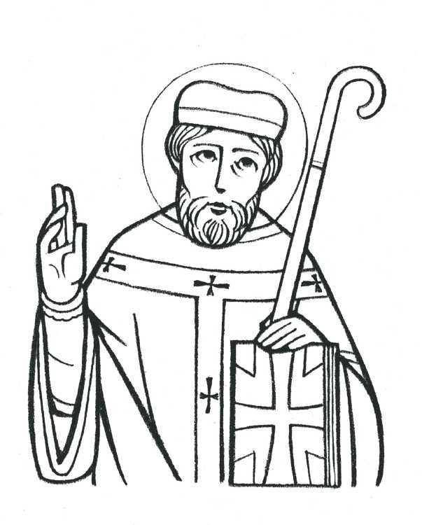 Saints Coloring Pages