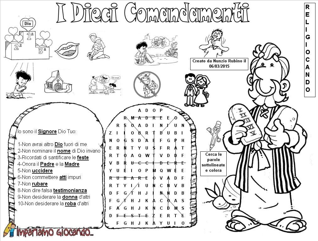 I dieci comandamenti film per bambini spoiler golden