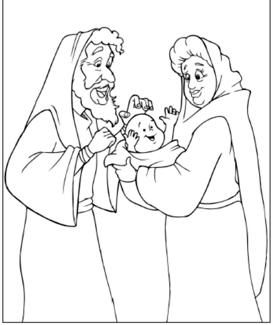 baby isaac bible coloring pages - photo#22