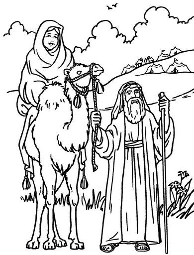 abram coloring pages - photo#20