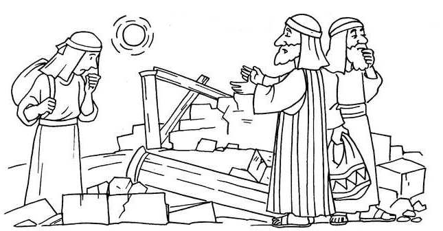 Coloring Pages For Nehemiah : Images about bible ot nehemiah on pinterest