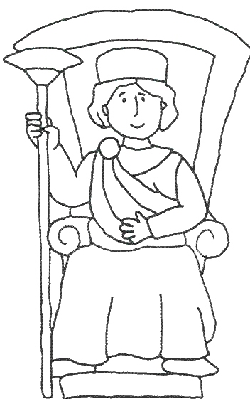 david and solomon coloring pages - photo#21