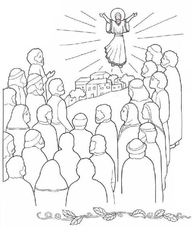 Ascensione di Gesù   Ascensione di Gesù in cielo