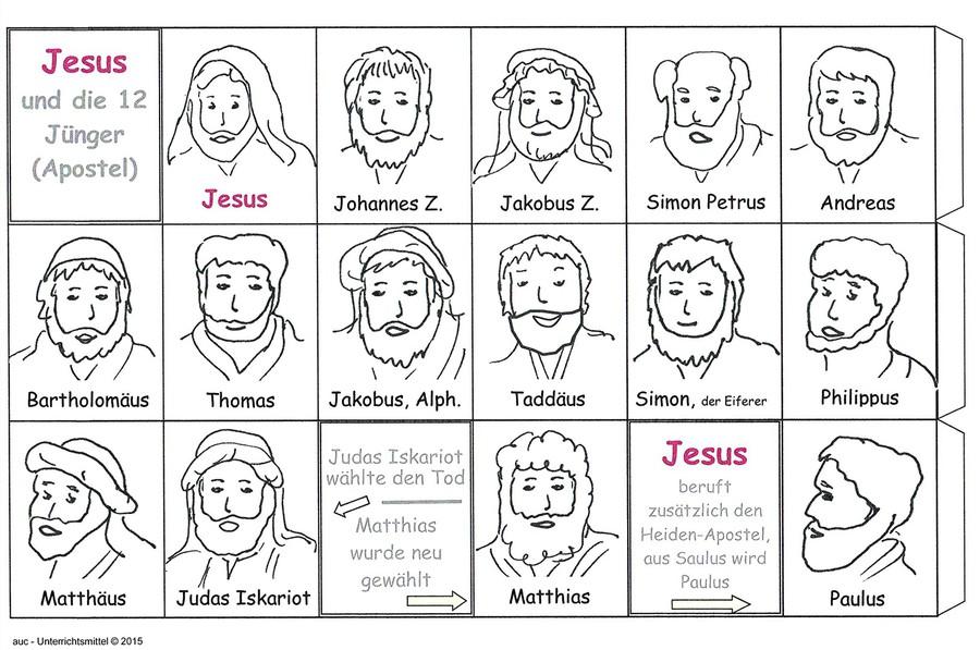 Namen Der 12 Apostel