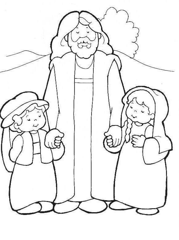 Ges e i bambini - Christian cartoni animati immagini ...