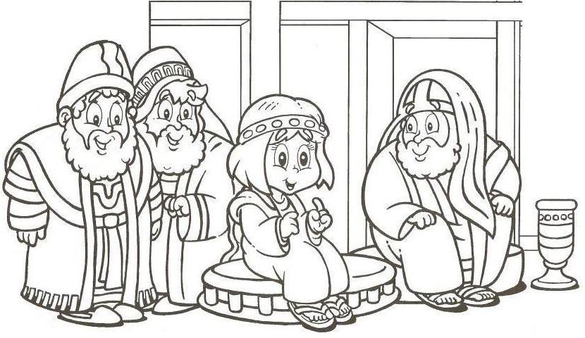 Jesus Goes To The Temple Story For Kids