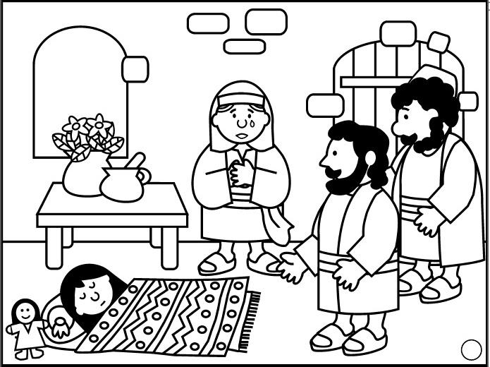 8 Ideas De La Hija De Jairo La Hija De Jairo Milagros De Jesús Escuela Dominical
