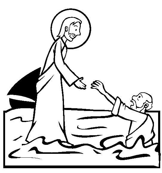 1000+ images about Bible: NT Peter Walks on the Water on ...