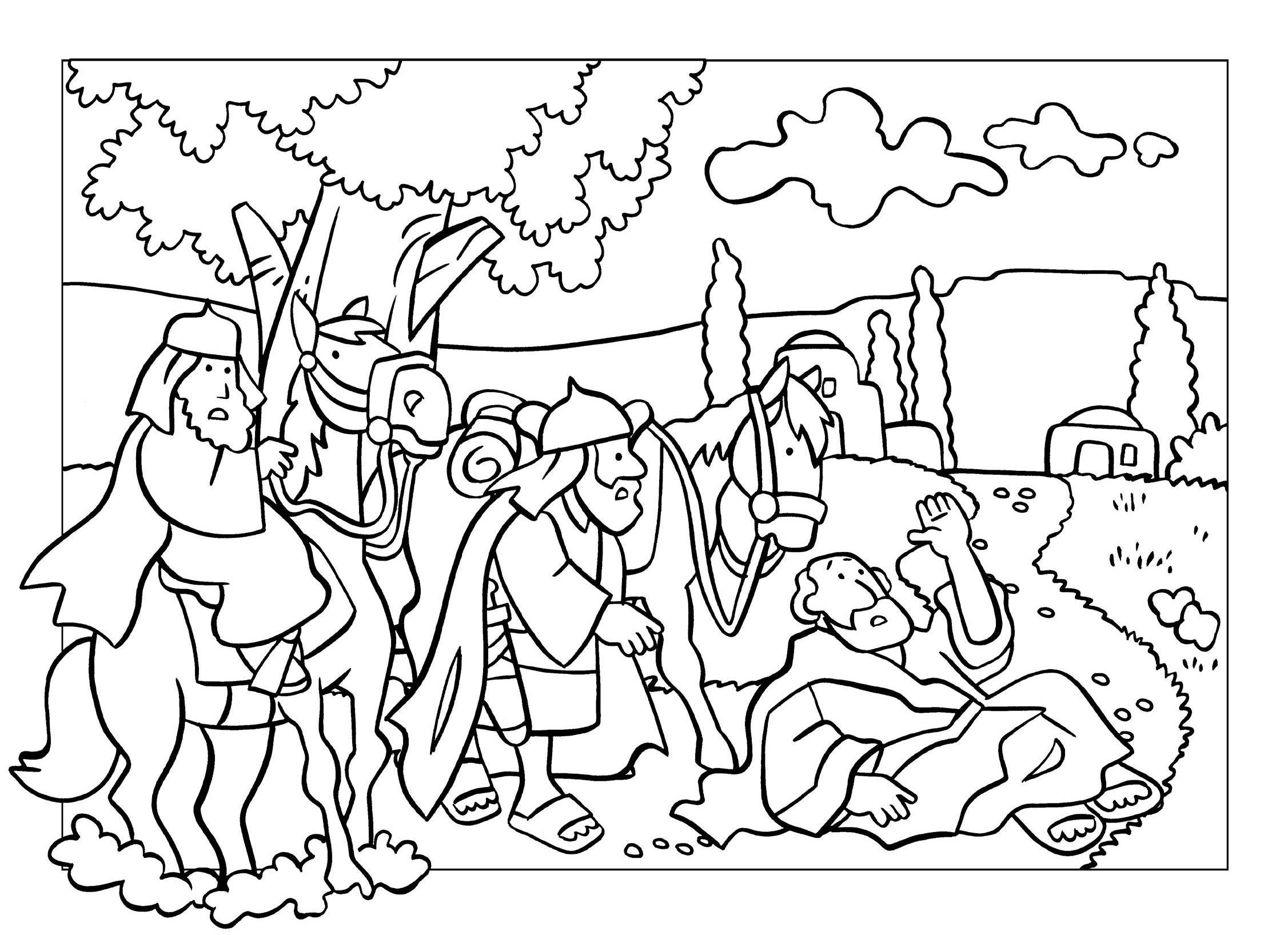 Popolare Disegni Bibbia da colorare - disegni biblici - giochi sulla bibbia  LI06