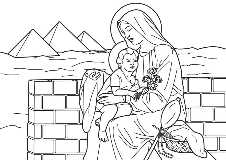 Disegni bibbia da colorare disegni biblici giochi for Immagini sacre da colorare