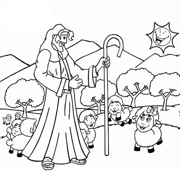 Il Buon Pastore | La Parabola di Gesù buon pastore
