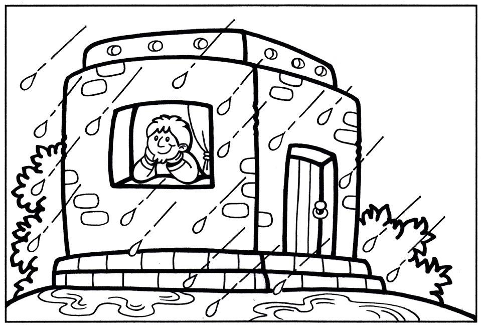 La casa nella roccia la casa fondata nella roccia for Piani di casa di roccia