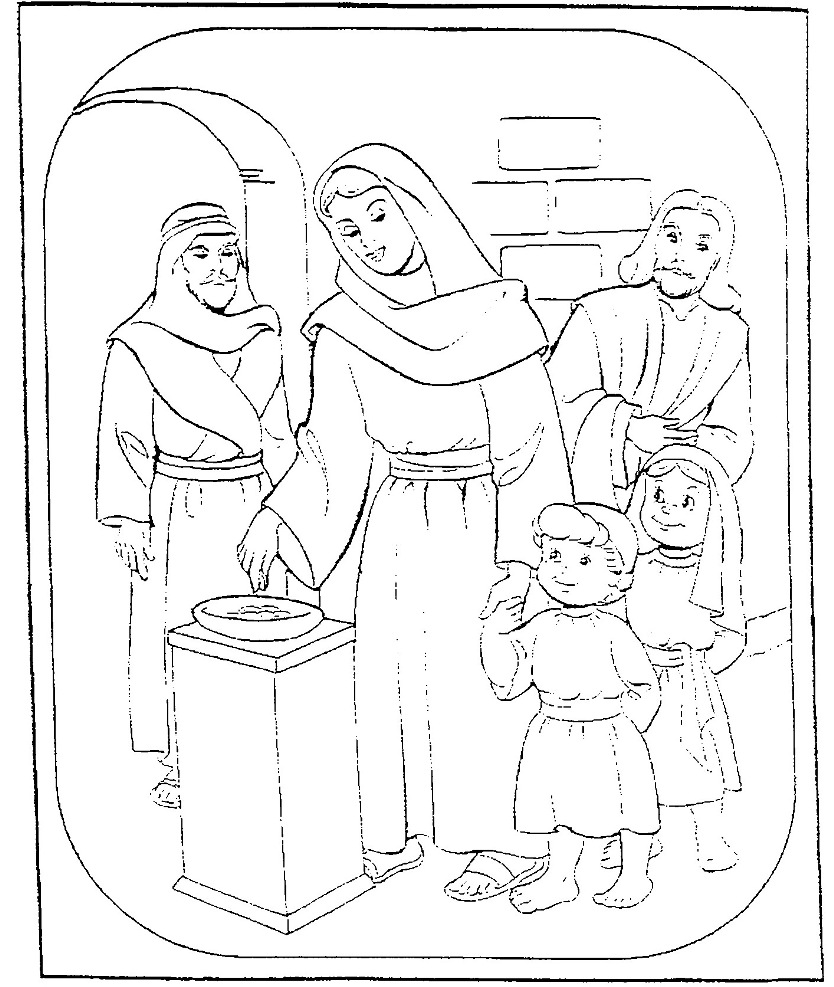 bible crafts coloring pages - photo#46