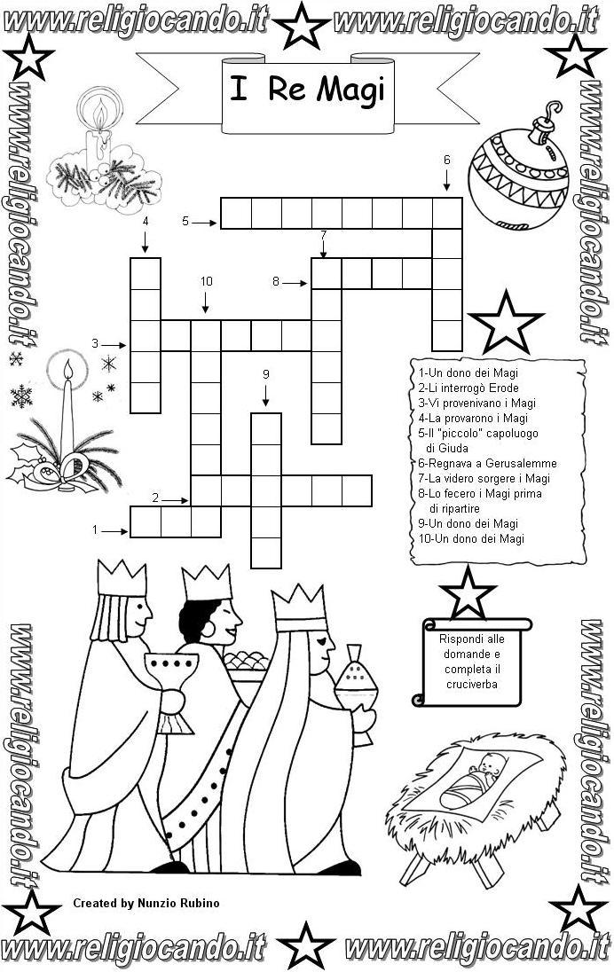 Re magi da colorare re magi disegni i re magi - Giocare giochi da colorare gratis ...