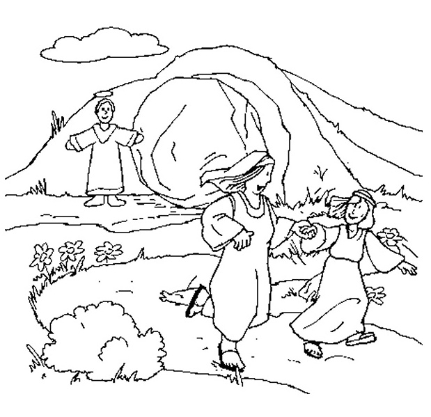 resurrection eggs story coloring pages - photo#17