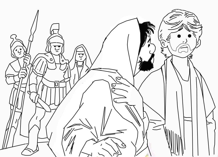 jesus praying in the garden of gethsemane coloring page - 1000 imagens sobre bible class handwork no pinterest