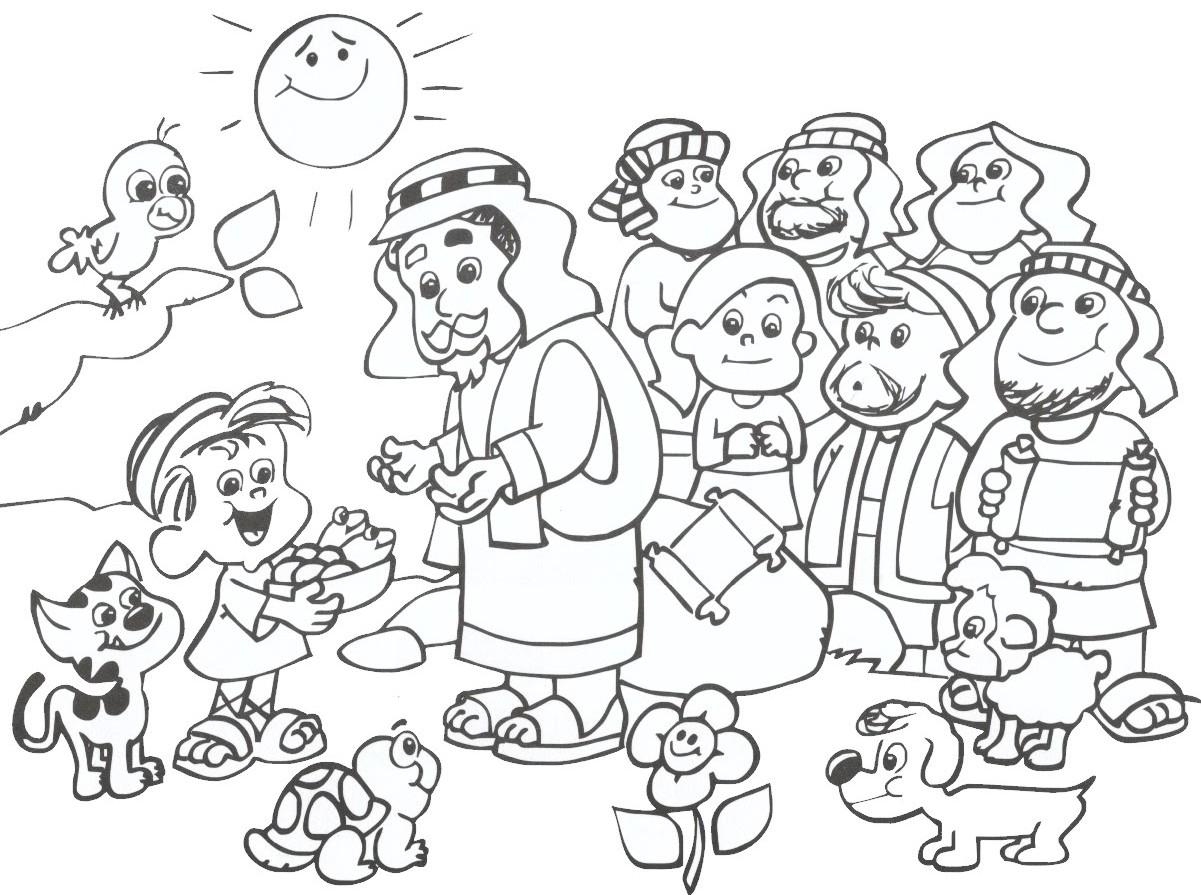 Religiocando for Pesci da disegnare per bambini