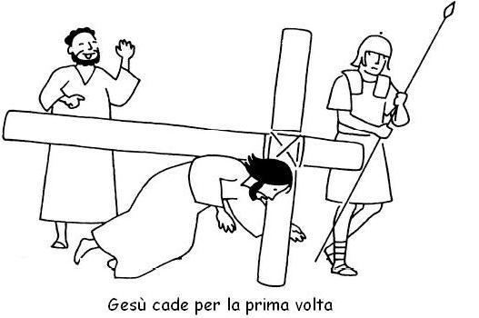 stazioni via crucis da