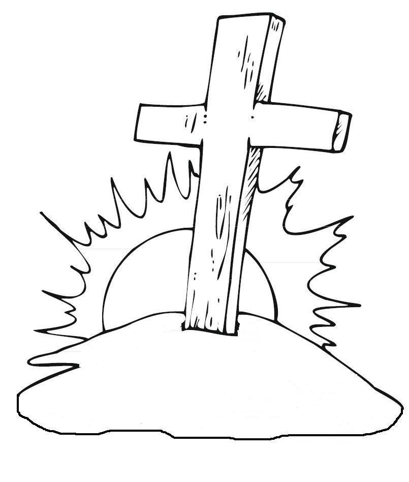 Croce croce cristiana - Pagine da colorare croci ...