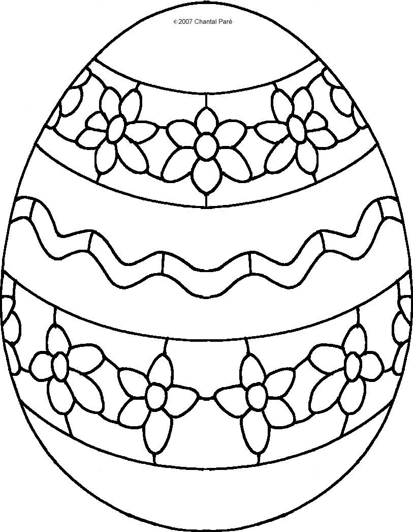 Uova Di Pasqua Da Colorare Uova Di Pasqua Disegni Uovo Di Pasqua