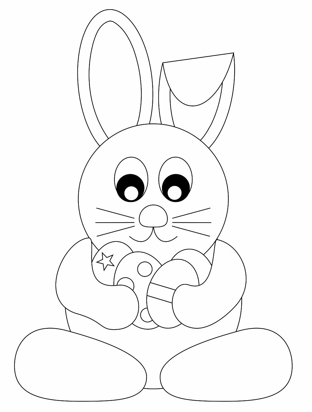 Coniglietto Di Pasqua Da Colorare Coniglietto Di Pasqua Disegni